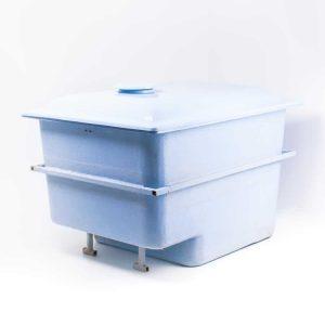 Nedgravingsboks for pumpe/filter